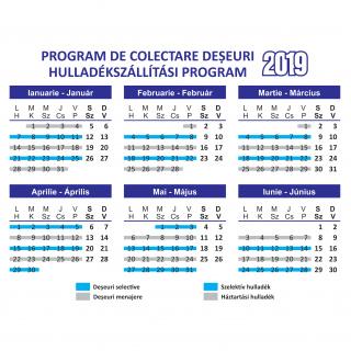 Vidéki hulladékelszállítási program, 2019